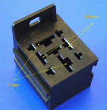 Relay base / holder for 70 Amp 4 pin relay              ALT/RELH005B-09
